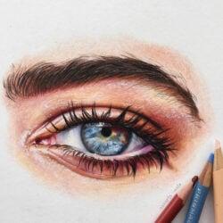 Lápices de Color Artísticos Prismacolor Premier Ojos
