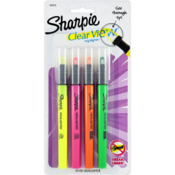Sharpie Clear View Stick
