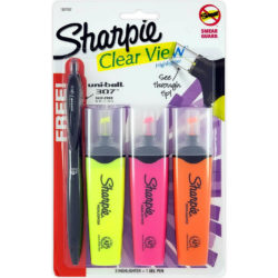 Sharpie Clear View uni-ball
