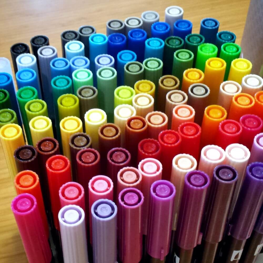 Tombow Dual Brush Pens 96 Colores