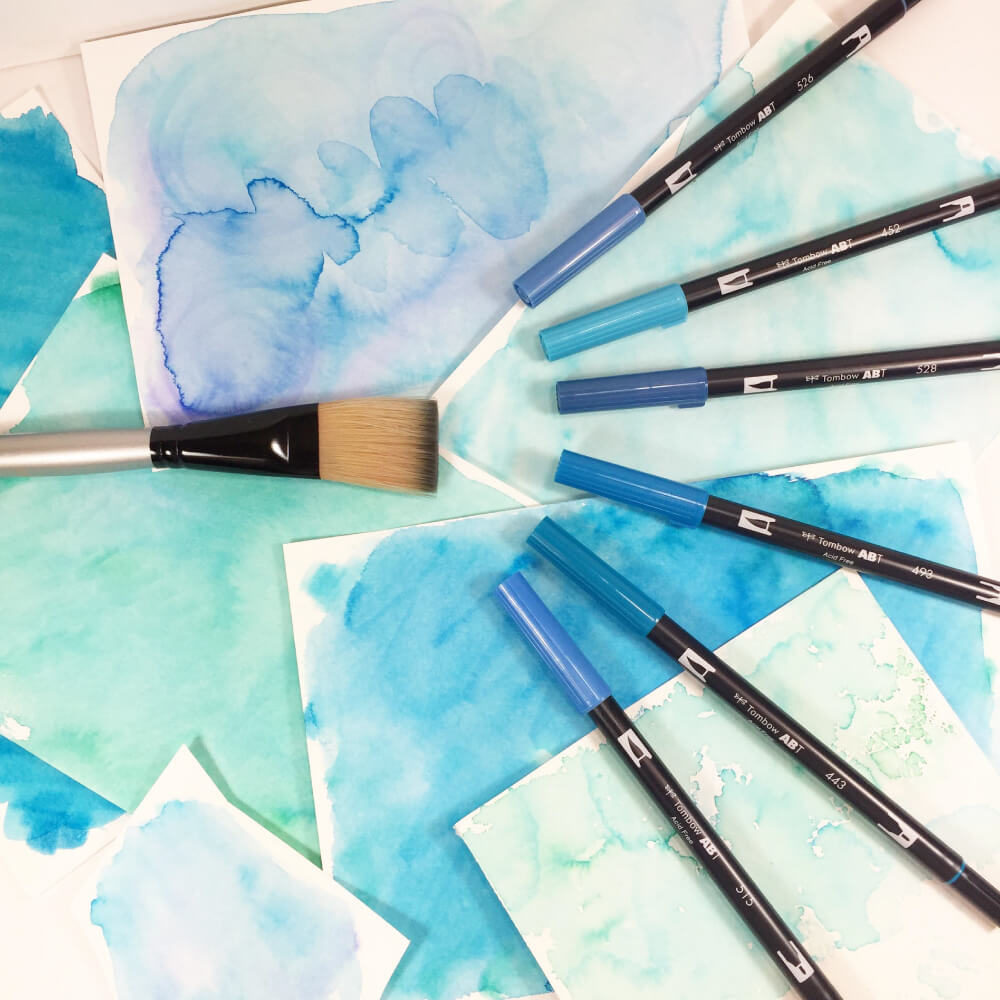 Tombow Dual Brush Pens Acuarela