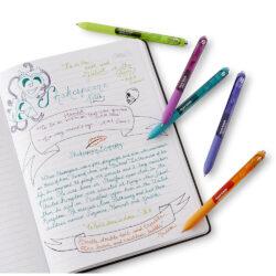 Bolígrafos Retráctiles Paper Mate Inkjoy Gel Cuaderno