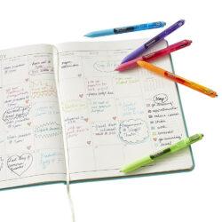 Bolígrafos Retráctiles Paper Mate Inkjoy Gel Notas
