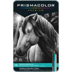 Set 18 Piezas con Lápices de Dibujo Prismacolor Premier Turquoise y Accesorios