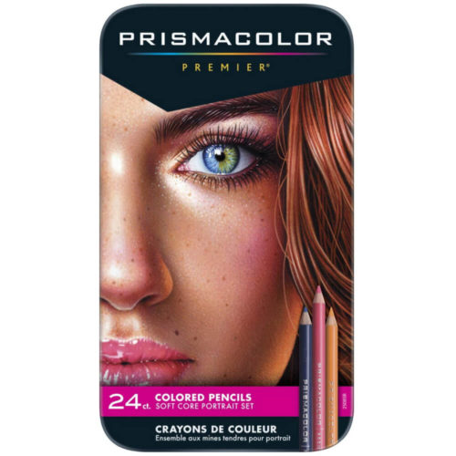 Set 24 Lápices de Colores para Retratos Prismacolor Premier