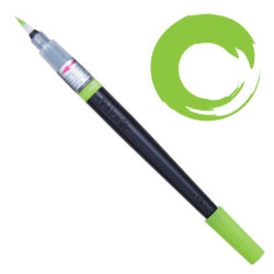 Colour Brush Recargable Pentel Arts Verde Claro