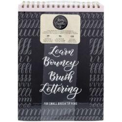 Cuadernos para practicar Lettering Dinámico Kelly Creates - Punta Pincel Pequeña