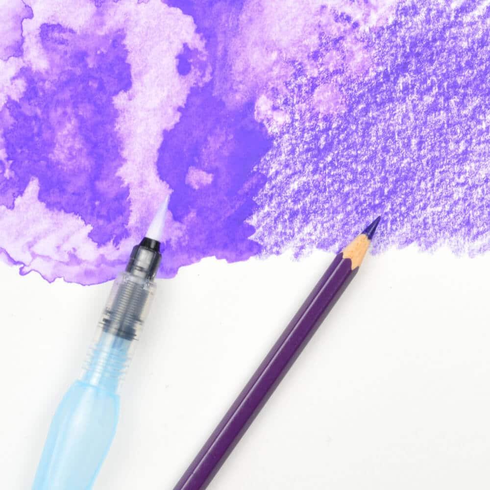 Pincel recargable con depósito de agua Aquash Brush Pentel Arts Colores