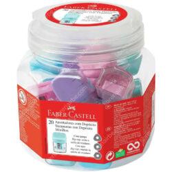 Set 20 Tajadores con Depósito Faber-Castell Minibox