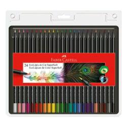 Set 24 Lápices de Color Faber Castell SuperSoft Color