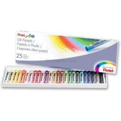 Set 25 Crayones Óleo Pastel Pentel Arts