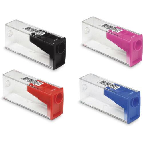 Tajador con Depósito - 1 Orificio Faber-Castell Colores