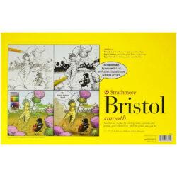 Block de Papel Bristol Liso para Arte Secuencial Strathmore Serie 300 (27.9 x 43.2 cm)