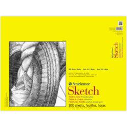Block de Papel para Dibujo Strathmore Serie 300 (45.7 x 61 cm)