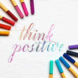 Estuche Metálico de 50 Micropuntas STABILO Point 88 Think Positive