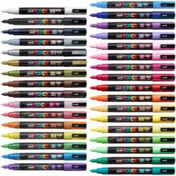 Marcadores uni-POSCA PC-3M por Unidad (33 Colores)