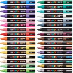 Marcadores uni-POSCA PC-5M por Unidad (32 Colores) Nuevo