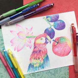 Portaminas Borrables 0.7 PILOT Color ENO Ilustración