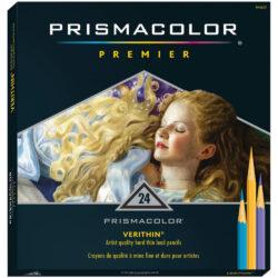 Set de 24 Lápices de Color Artísticos Prismacolor Premier Verithin