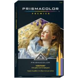 Set de 36 Lápices de Color Artísticos Prismacolor Premier Verithin