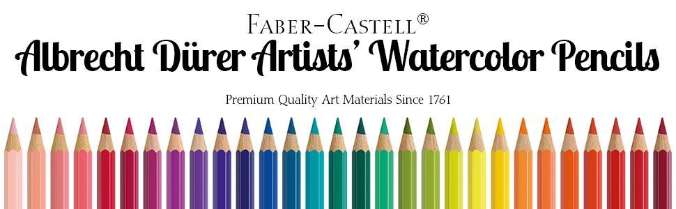 Banner Lápices de Color Acuarelables Calidad Profesional Faber-Castell Albrecht Dürer