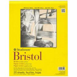 Block de Papel Bristol Liso Strathmore Serie 300 (27.9 x 35.6 cm)