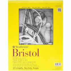 Block de Papel Bristol Strathmore Serie 300 (27.9 x 35.6 cm)