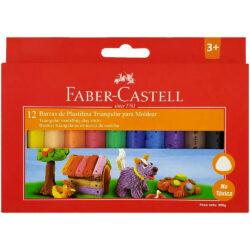 Set 12 Barras de Plastilina Faber Castell