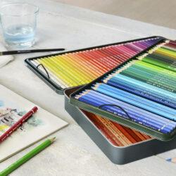 Set 120 Lápices de Colores Acuarelables Calidad Profesional Faber-Castell Albrecht Dürer Ejemplo