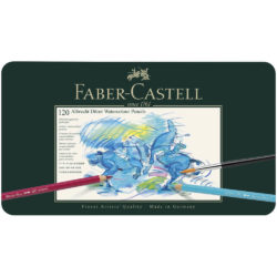 Set 120 Lápices de Colores Acuarelables Calidad Profesional Faber-Castell Albrecht Dürer Lata