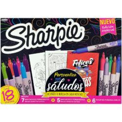 Set 18 Piezas Sharpie Edición Especial Personaliza tus Saludos