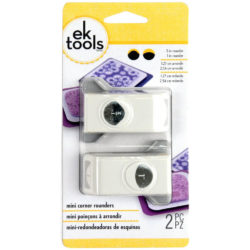 Set 2 Mini Redondeadoras de Esquinas EK Tools