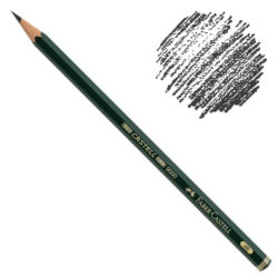 Lápiz de Dibujo Castell 9000 Faber-Castell 4B
