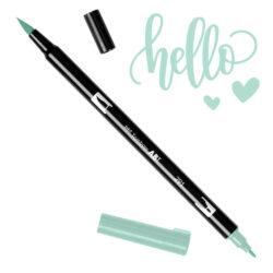Marcador Acuarelable Doble Punta Tombow Dual Brush Pen - Azul Alicia 291