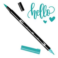 Marcador Acuarelable Doble Punta Tombow Dual Brush Pen - Azul Brillante 403
