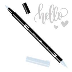 Marcador Acuarelable Doble Punta Tombow Dual Brush Pen - Gris Calido 3 N89