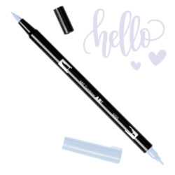 Marcador Acuarelable Doble Punta Tombow Dual Brush Pen - Gris Frio 1 N95
