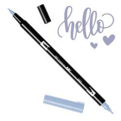 Marcador Acuarelable Doble Punta Tombow Dual Brush Pen - Gris Frio 6 N60