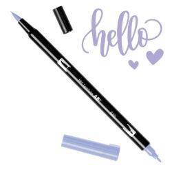 Marcador Acuarelable Doble Punta Tombow Dual Brush Pen - Lila 620