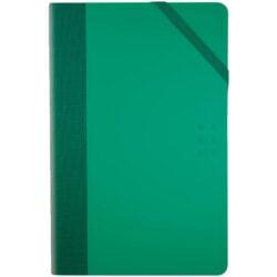 Paperbook MILAN con 208 páginas de 80 g Tamaño A5 Vertical Verde