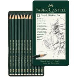 Set 12 Lápices de Dibujo Castell 9000 Faber-Castell Art (8B-2H) Principal