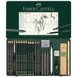 Set de Dibujo de 26 Piezas PITT Grafito Faber-Castell Vista