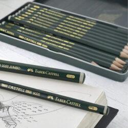 Lápices Castell 9000