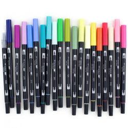 Marcadores Acuarelables Tombow Dual Brush Pens por Unidad (108 Colores)