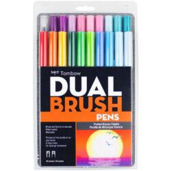 Set 20 Marcadores Acuarelables Doble Punta Tombow Dual Brush Pens Paleta de Mezclas Perfectas