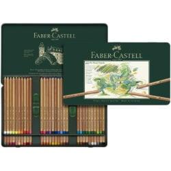 Set 60 Lápices Tiza Pastel Calidad Profesional Faber-Castell PITT Pastel