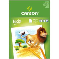 Bloc para Dibujar CANSON con 30 Hojas de 90 g Tamaño A4