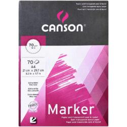 Bloc para Marcador CANSON con 70 Hojas de 70 g Tamaño A4