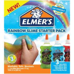 Kit Inicial para Crear Slime Colores Arcoiris Elmer's