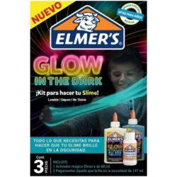 Kit Inicial para Crear Slime que brilla en la oscuridad Elmer's